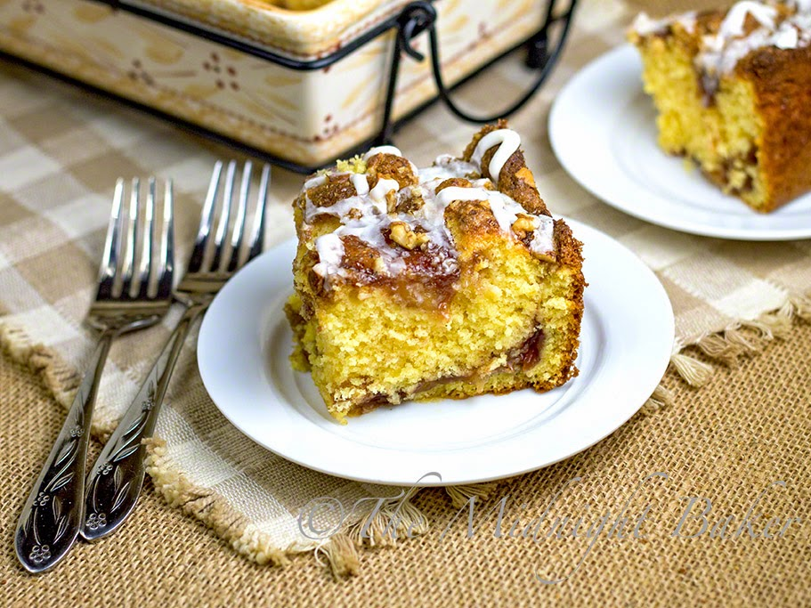 Apple Cinnamon Breakfast Cake #CoffeeCake #AppleCinnamonCake #breakfast