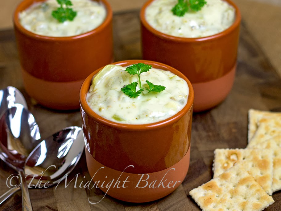 New England Clam Chowder #CreamSoups #ClamChowder #soups