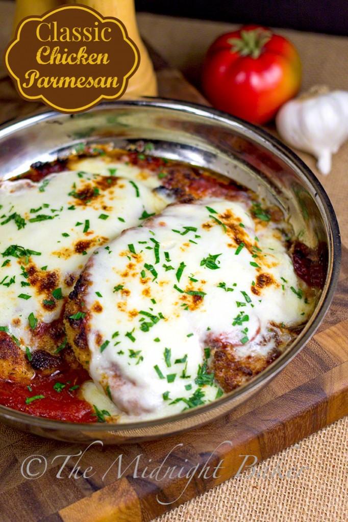 Chicken Parmesan | bakeatmidnite.com | #chicken #ChickenParm #ItalianFood