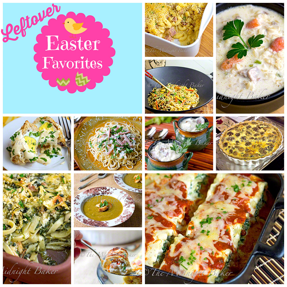 Easter Leftover Favorites #UsingLeftovers #LeftoverHamRecipes #LeftoverTurkeyRecipes