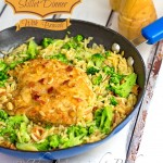 Chicken Orzo Skillet Dinner