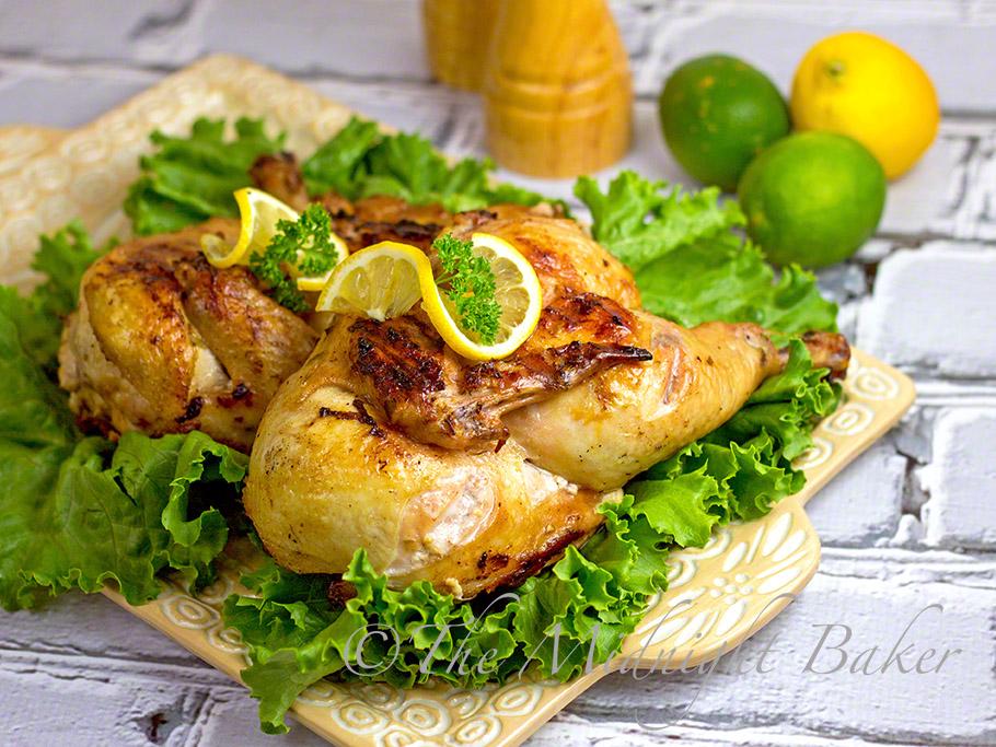 Citrus Tarragon Chicken #BBQChicken #MemorialDay #CookoutRecipes #July4th #HerbGrilledChicken #SummerBBQs
