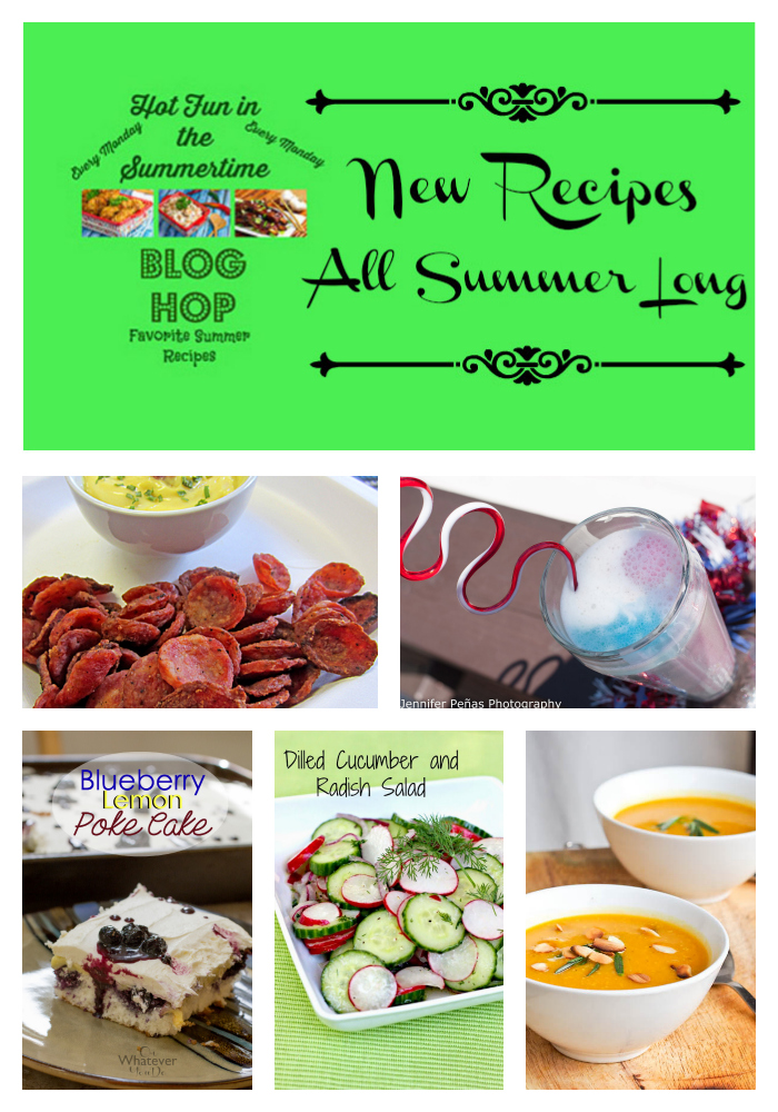 Summer Blog Hop Party #summerrecipes