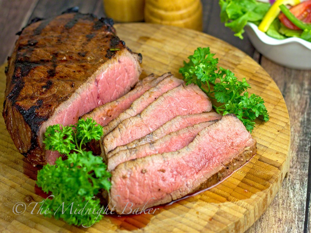 Neil's Special Angus Steak | bakeatmidnite.com | #shop #PriceChopperBBQ #LondonBroil