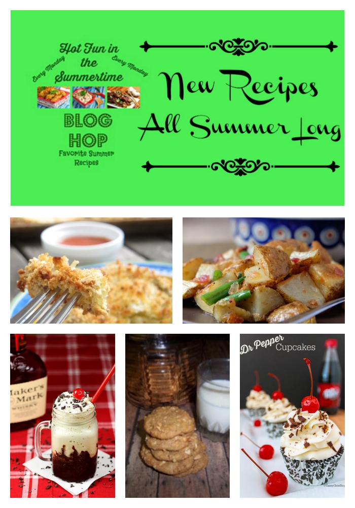 Midnight Baker Summer Blog Hop #summerrecipes #midnightbaker