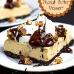 Frozen Peanut Butter & Chocolate Dessert