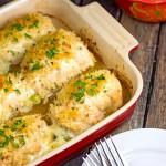 Broccoli Cheese Chicken Rolls