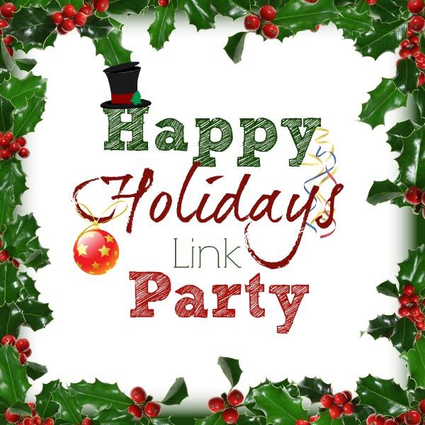 Happy Holidays Link Party   bakeatmidnite.com   #linkparty #recipes #DIY
