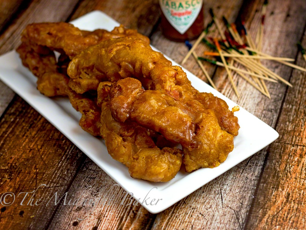 tabasco chipotle fried bacon | bakeatmidnite.com | #bacon #SeasonedGreetings #ad