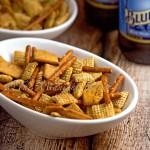 Cheese & Garlic Snack Mix