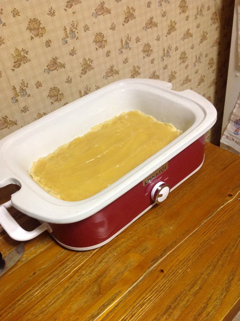 Slow Cooker Lemon Bars | bakeatmidnite.com | #slowcooker #crockpot #desserts #lemonbars