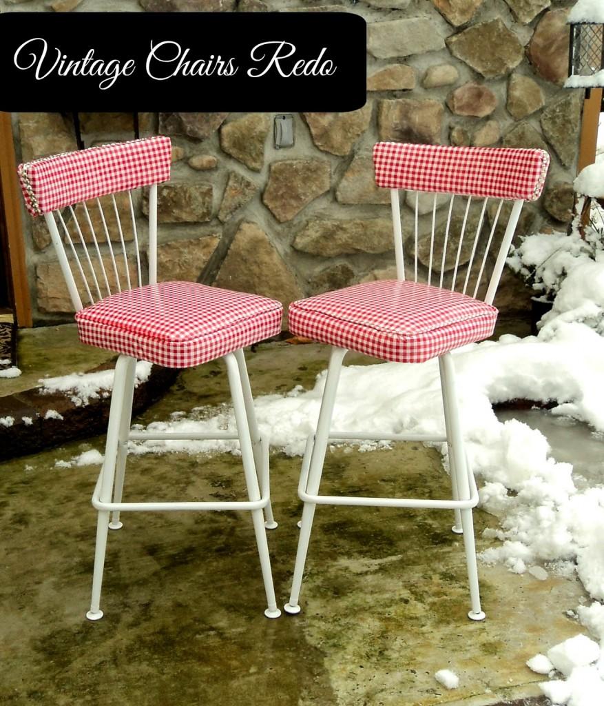 Kitchen Chair Redo