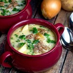 Bacon & Brats Soup