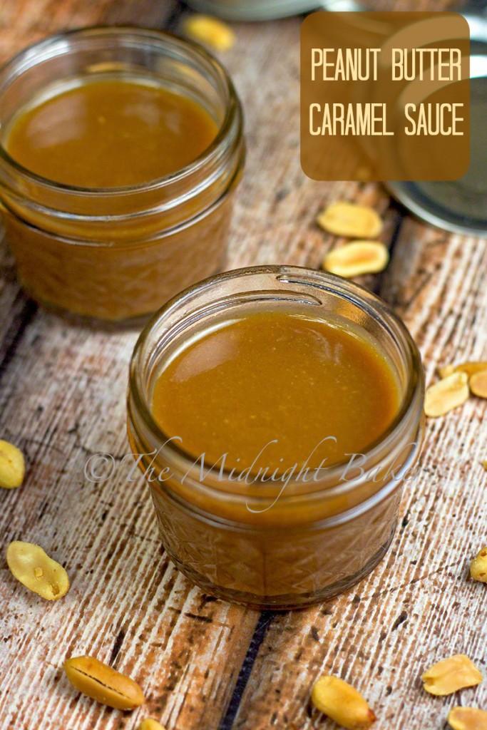 Peanut Butter Caramel Sauce | bakeatmidnite.com | #peanutbutter #dessert #sauces