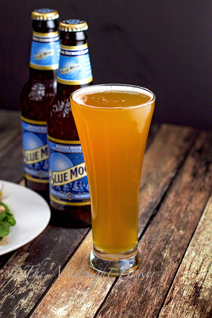 Msg 4 21+Blue Moon Belgian White Ale | bakeatmidnite.com | #HouseofBBQ #BlueMoonAle #ad