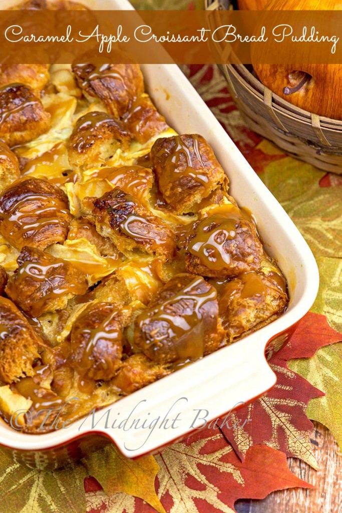 caramel-apple-croissant-bread-pudding