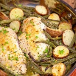 Italian Herb Chicken with Roasted Vegetables