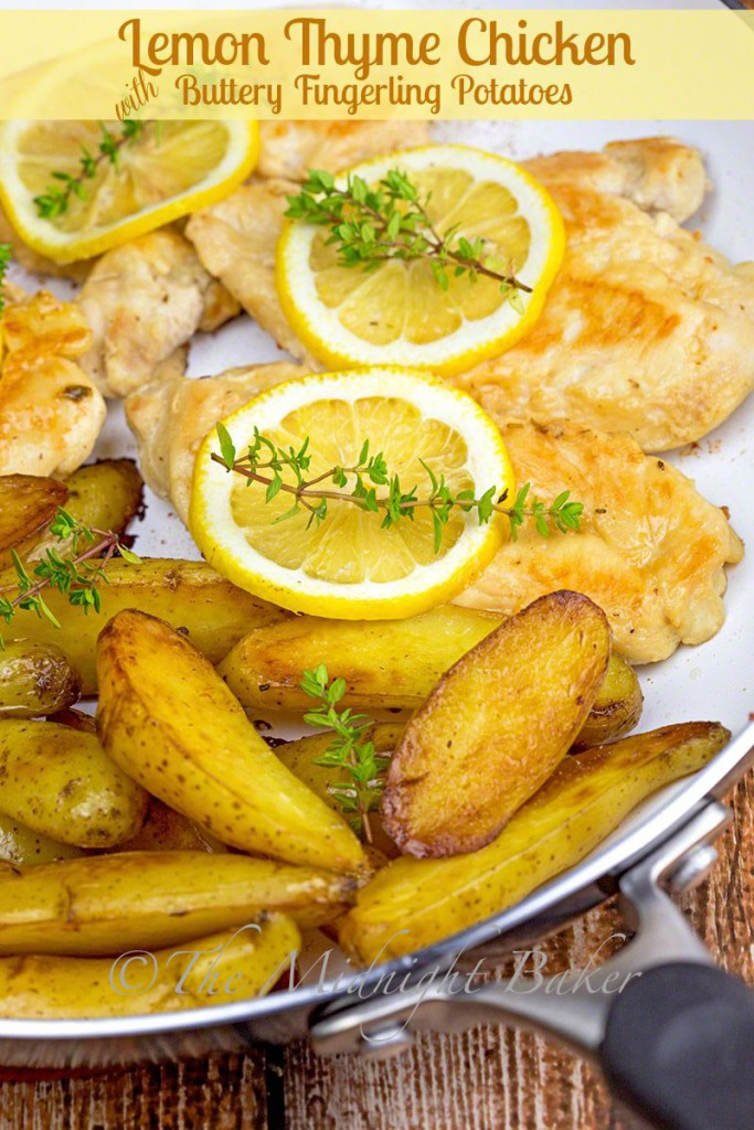 Lemon Thyme Chicken with Fingerling Potatoes