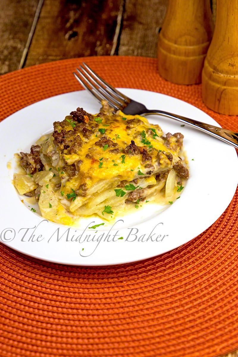 Cheesy Beef & Potatoes