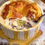 Chicken Alfredo Pot Pie