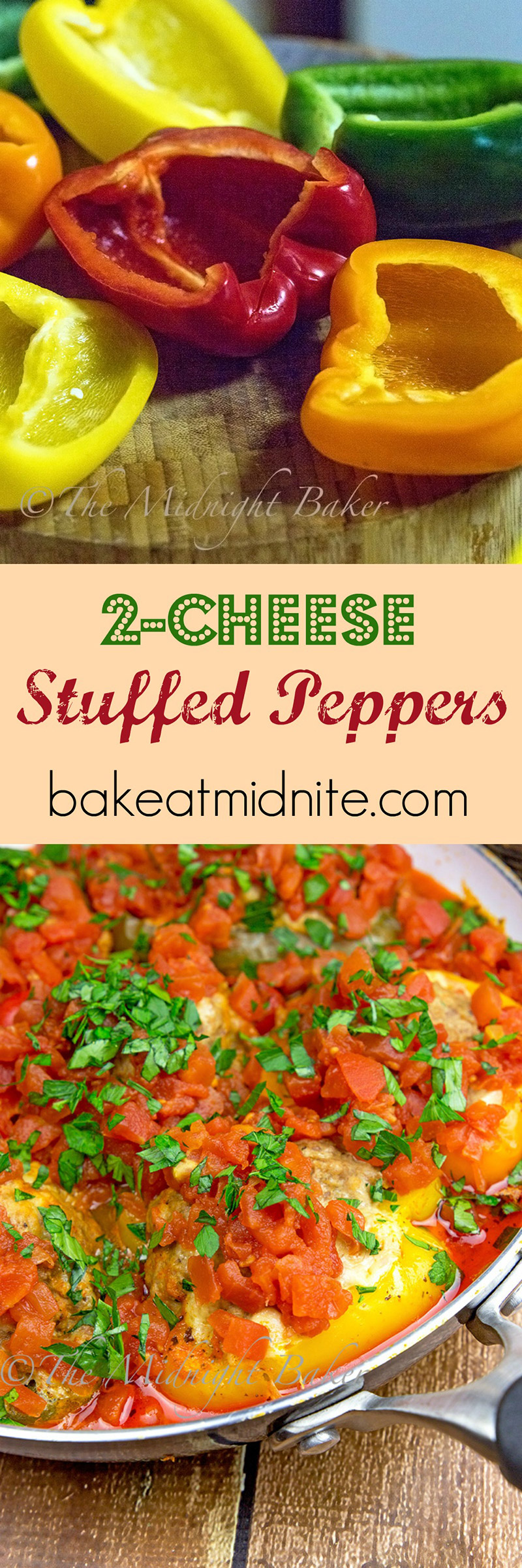2-Cheese Stuffed Peppers