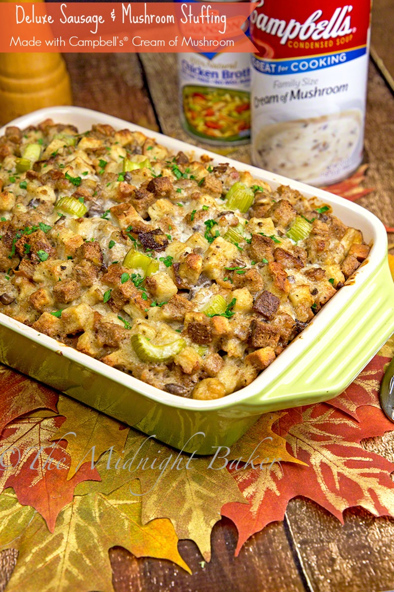 Deluxe Sausage & Mushroom Stuffing
