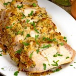 Sage and Onion Stuffed Pork Loin