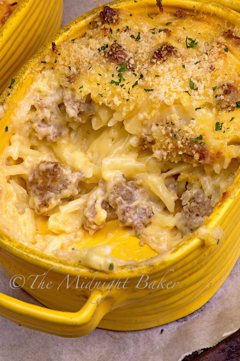 This creamy and cheesy casserole is easy to make and will be a hit with your family