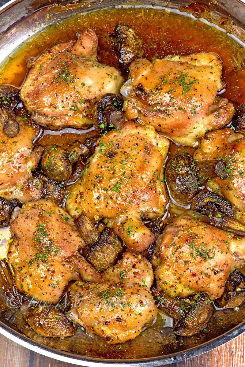 3-Ingredient Italian Chicken - The Midnight Baker