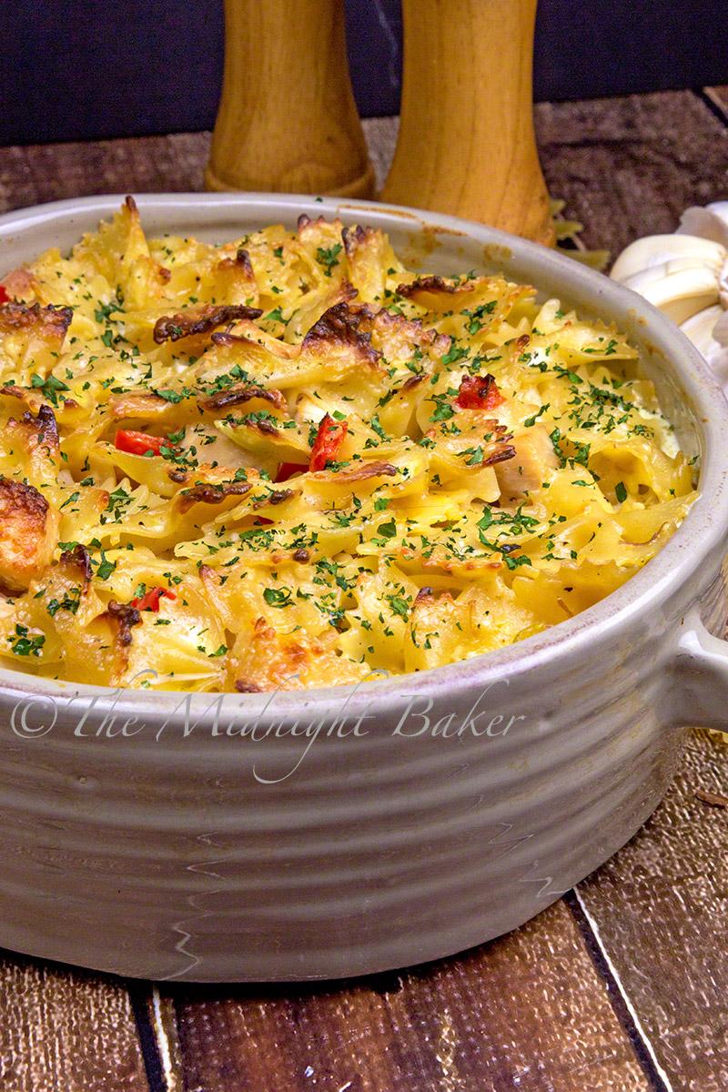 Easy to make Italian flavored chicken casserole