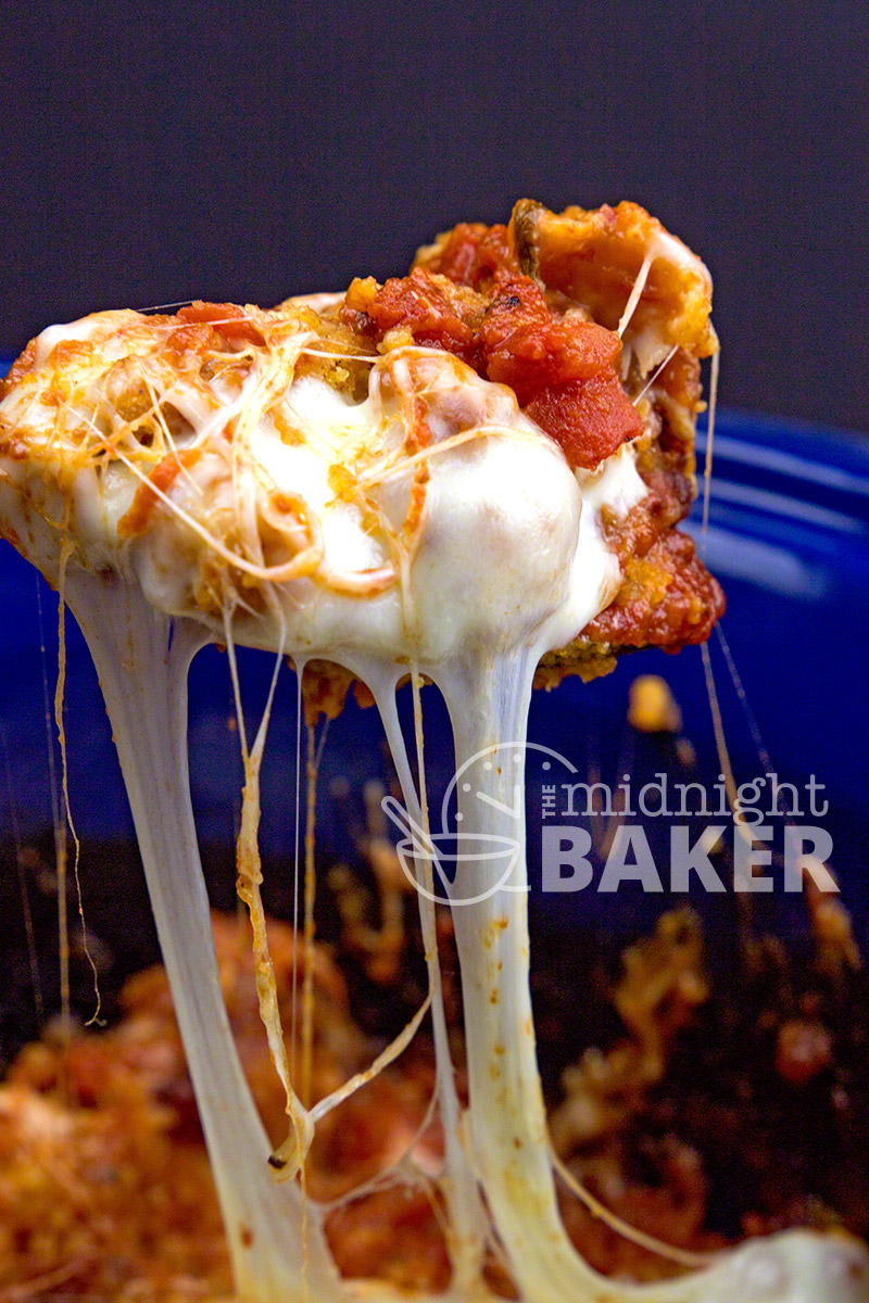 Everyone's favorite Italian dish --chicken parmesan--adapted to the crock pot--uses 1 convenience ingredient that makes it great!