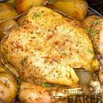 Country chicken cooked low and slow in the slow cooker. Veggies get a fantastic flavor!