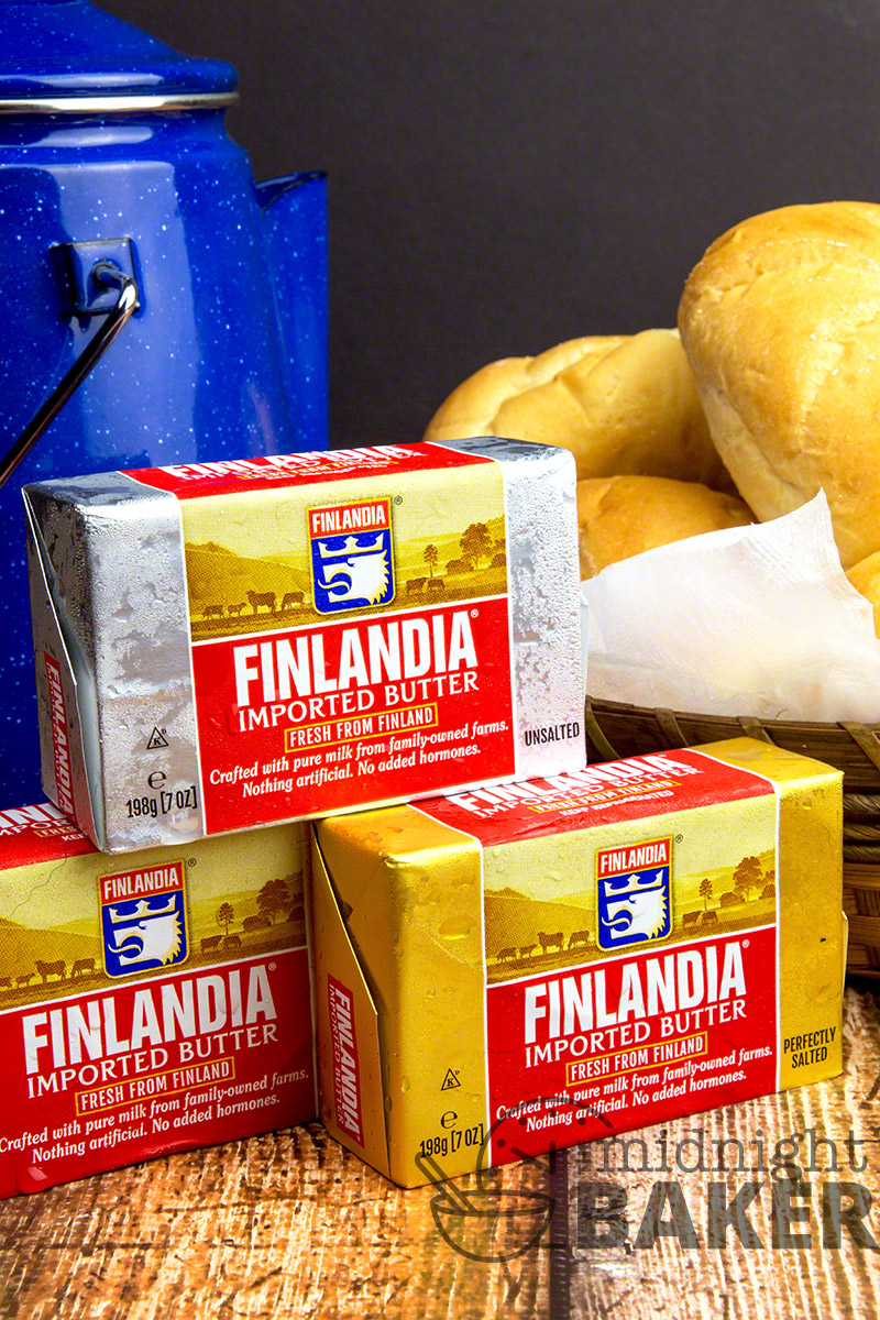 Delicious and buttery chicken with orzo and Finlandia Imported Butter makes it great!