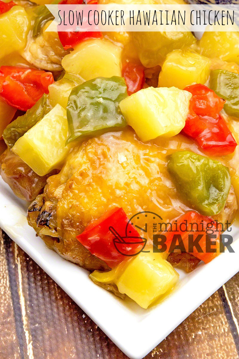 Chicken slow-cooked in a delicate sweet and sour sauce with Hawaiian pineapple and bell peppers.