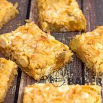 Filled with candied pineapple, coconut and macadamia nuts, these bars scream tropics!