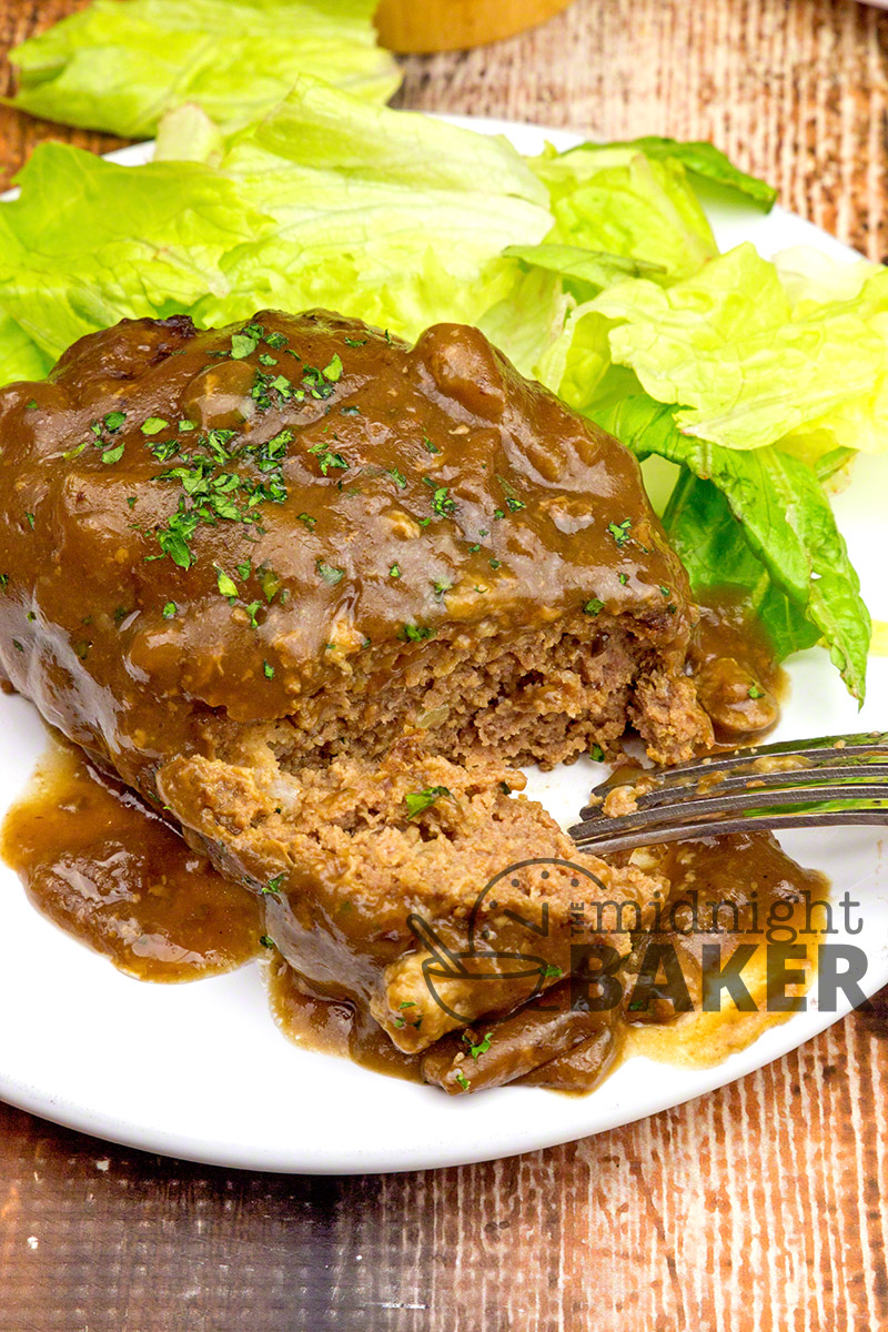 Easy and delicious salisbury steak you set and forget in your slow cooker.