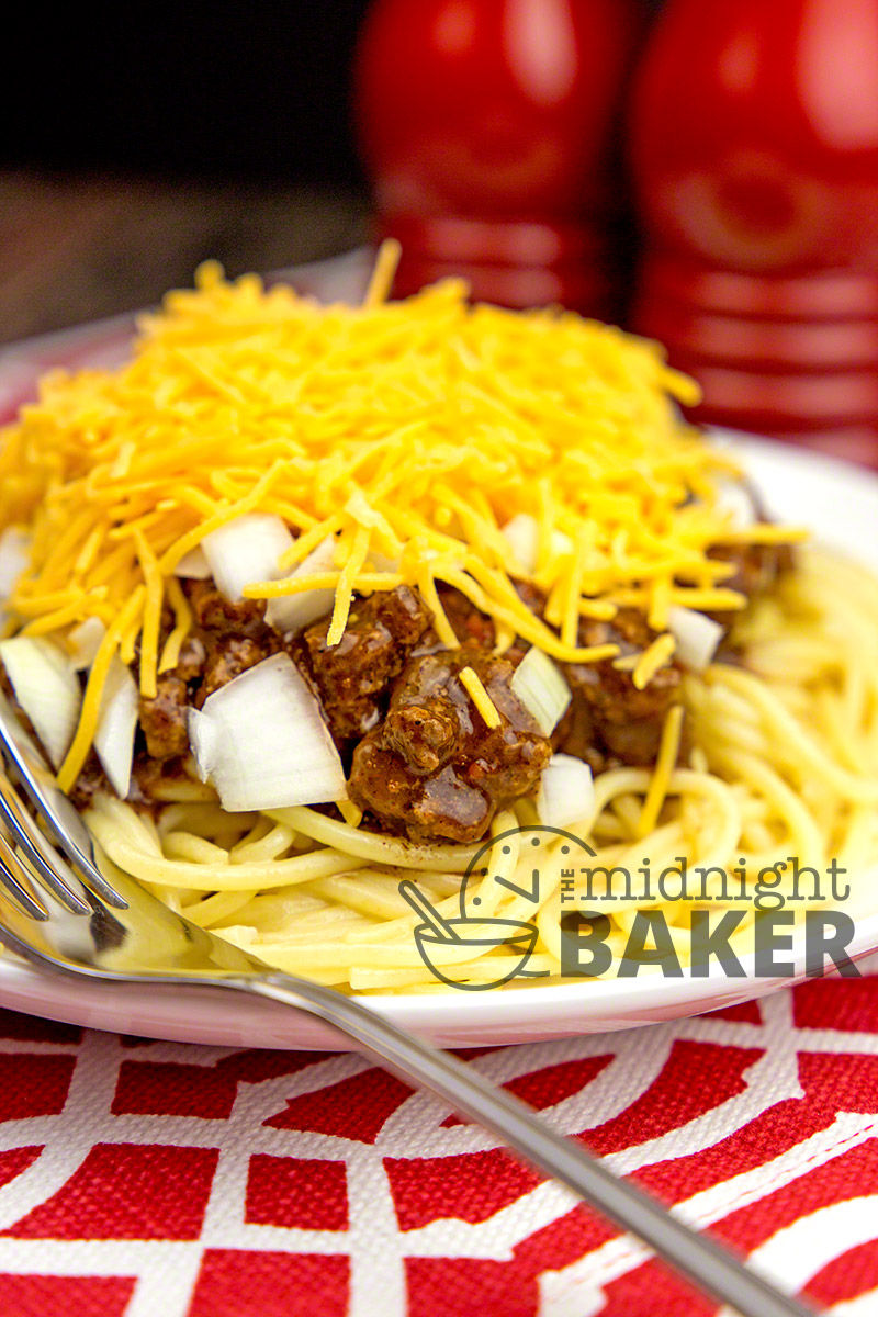 Chili as it's done in Cincinnati, Ohio! A really different chili!