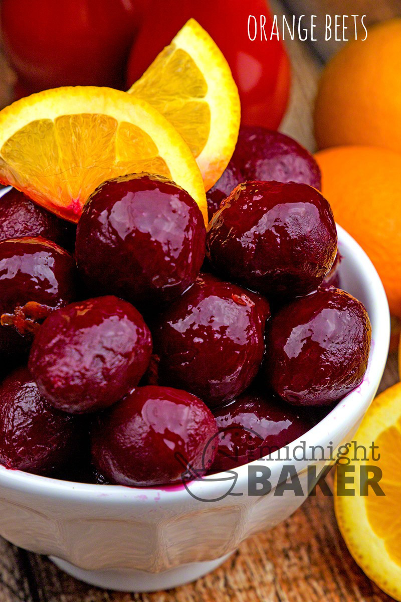 Jazz up your beets with tangy orange!