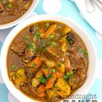 "Get that ""all day"" beef stew flavor in less than 1 hour with your Instant Pot!"
