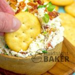 Here's a dip you can't stop eating! Loaded with bacon and tangy green onions!