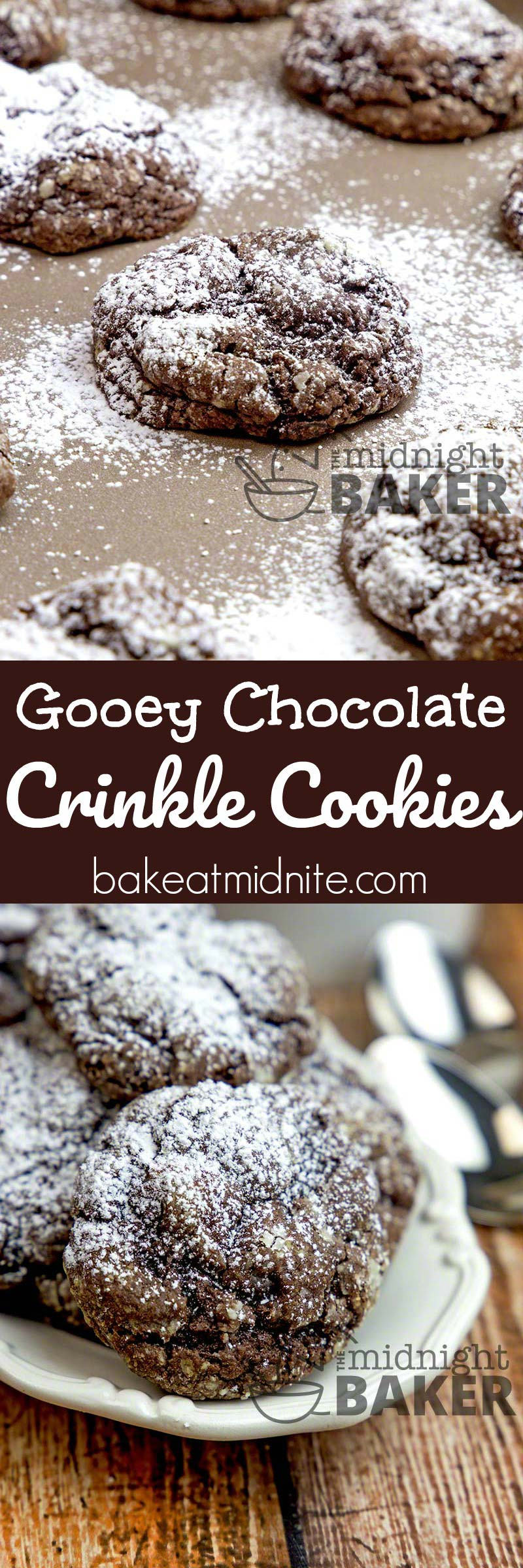 Yummy, soft and chewy chocolate cookies that start with a cake mix!