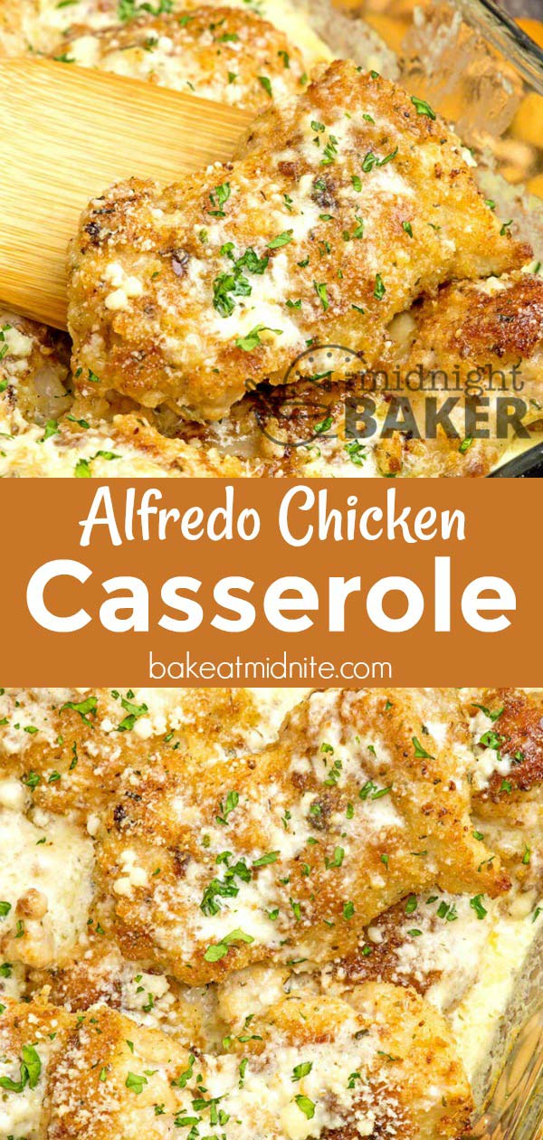 This alfredo chicken casserole is wonderful when you're pressed for time. Make in a skillet or oven casserole!