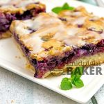 Buttery crust, fresh blueberries and a hint of lemon--what's not to love?