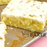 Texas sheet cake is great for serving large crowds and a winner for pot lucks.