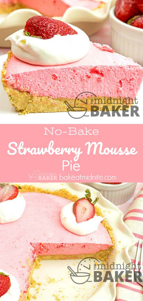This delicious strawberry pie is, well, as easy as pie! Easily made low calorie for those watching their weight.