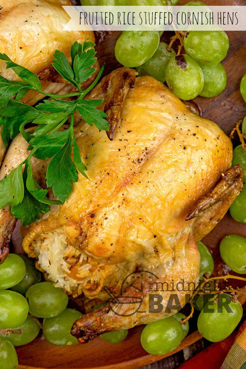 The perfect answer to an empty nest holiday dinner. Elegant but very easy!