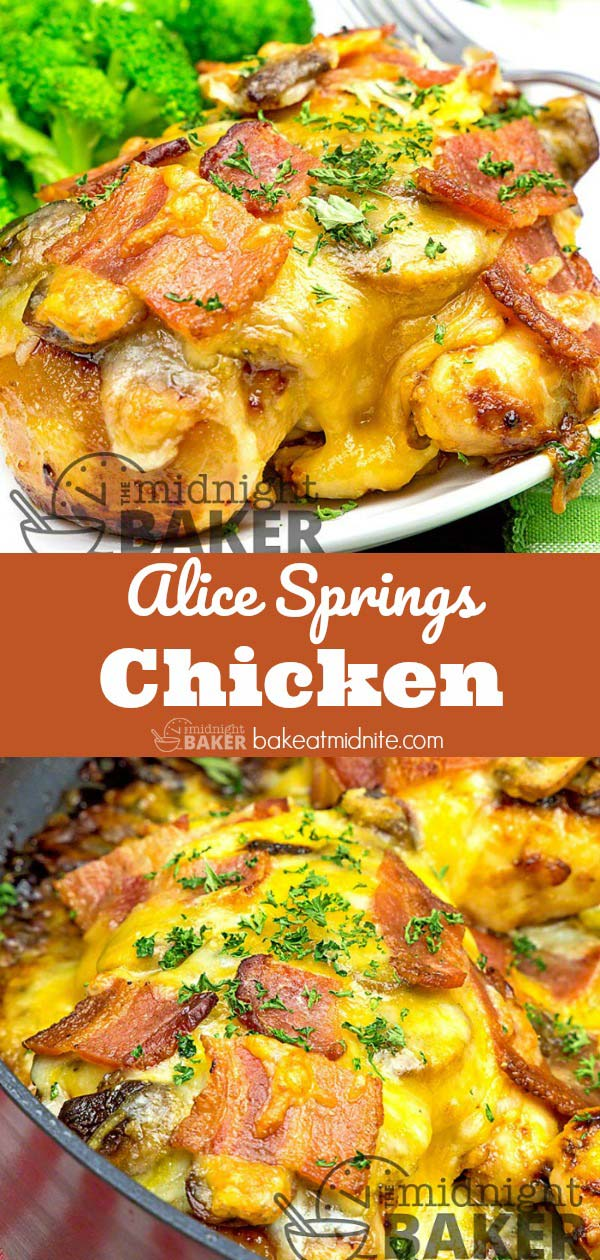 Copycat of the famous Alice Springs chicken served at Outback.