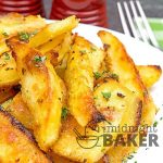 These crunchy and delicious potatoes have a mild herb flavor and are totally vegan too.