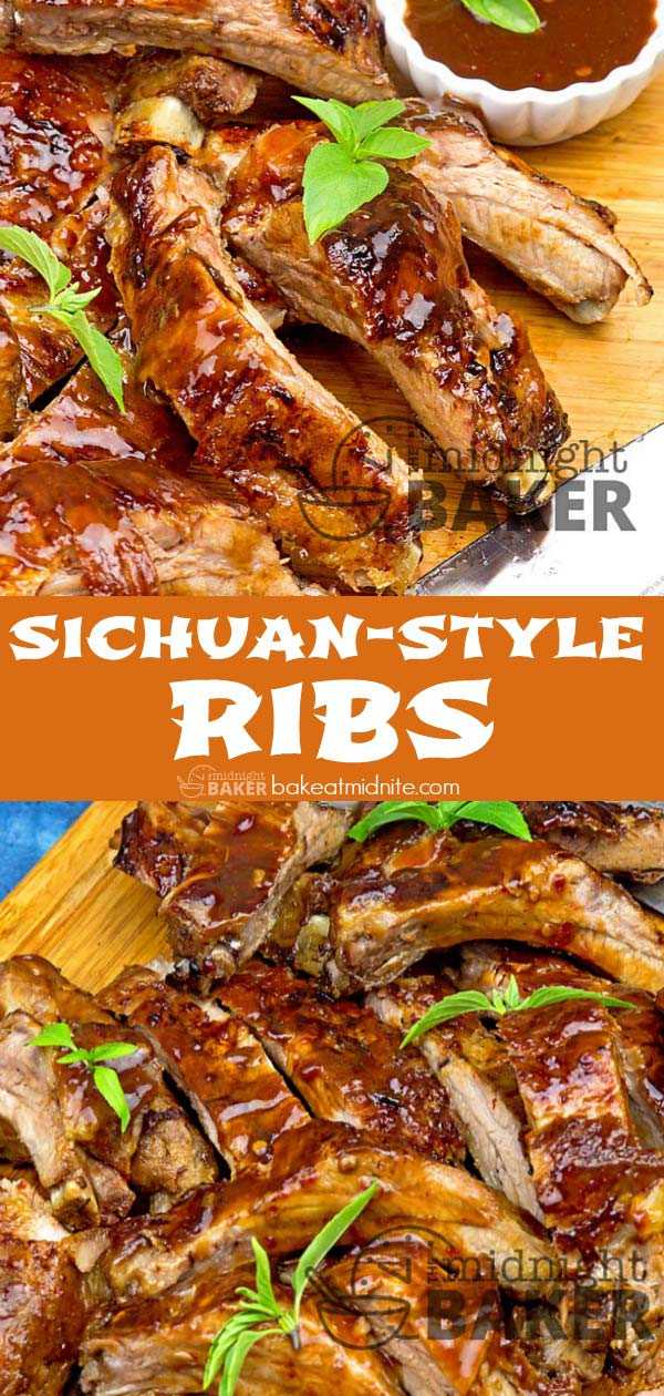 These Sichuan-style ribs are quick and easy in the Instant Pot. Finish them off on the grill or in the broiler.