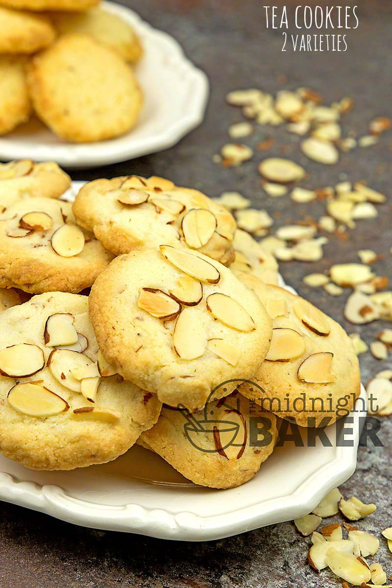 Three kinds of cookies with one easy dough! Make one or all!